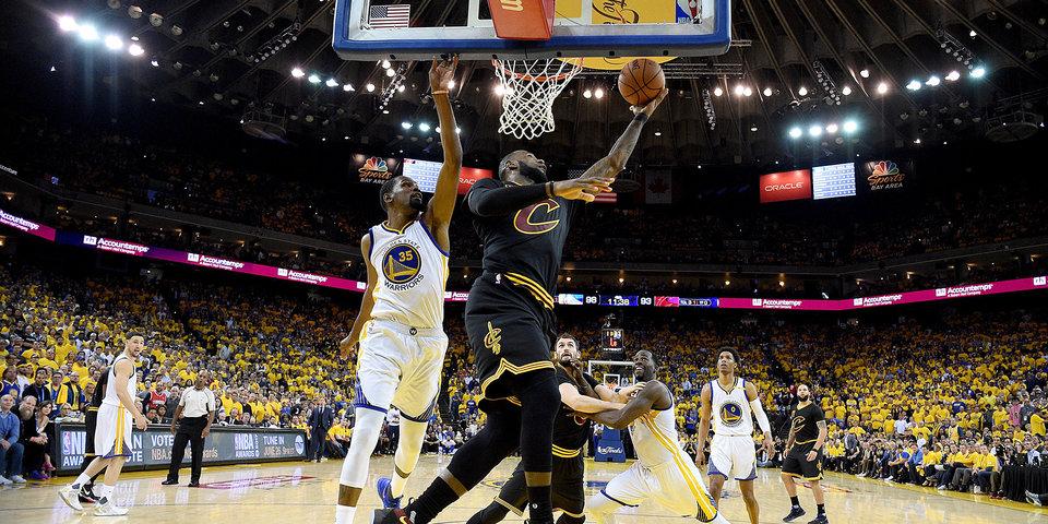 «Голден Стэйт» и «Кливленд» –в финале НБА четвертый раз подряд. Но вам не надоест