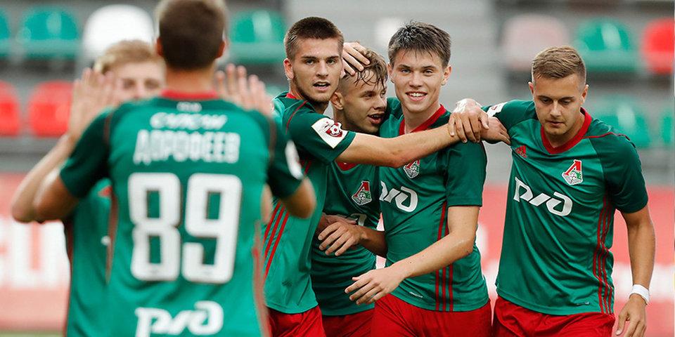 «Динамо» и «Локомотив» разгромили соперников в молодежном первенстве