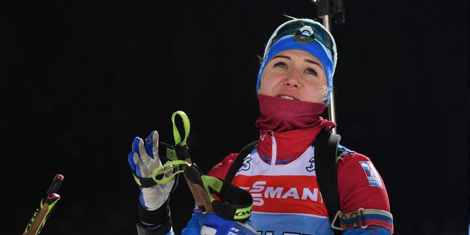 Биатлонистка Васильева пропустила три допинг-теста загод
