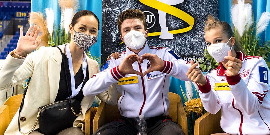Российские танцевальные пары выиграли серебро и бронзу юниорского этапа Гран-При