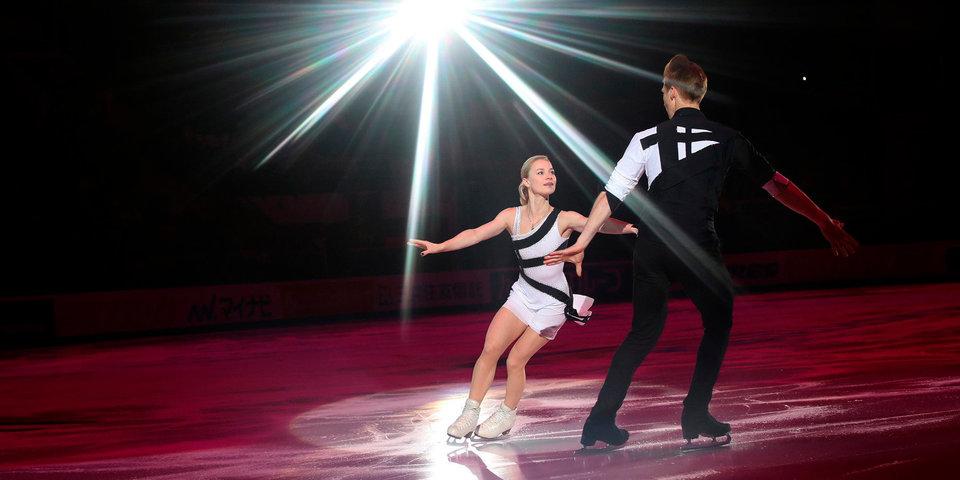 Тарасова и Морозов выиграли короткую программу, Ковтун захватил лидерство. Жгучее видео с чемпионата России
