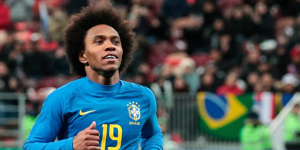 Беспилотник ворвался на тренировку сборной Бразилии