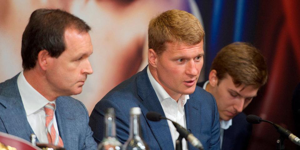 Александр Поветкин: «В данный момент нахожусь в отличной форме»