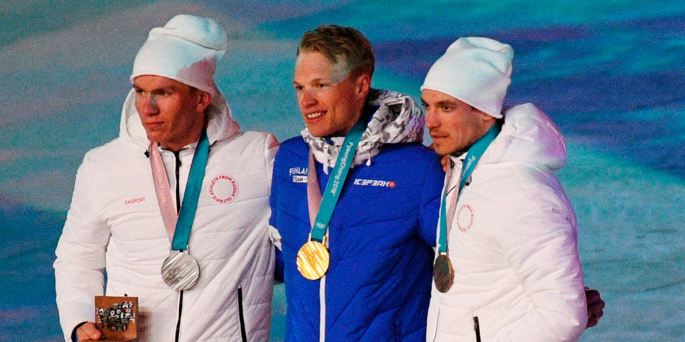 В Канаде лыжника Харви считают медалистом ОИ-2018, так как Большунов и Ларьков не должны были соревноваться в Пхенчхане