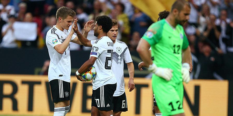«Было весело». Ройс — о разгроме сборной Эстонии