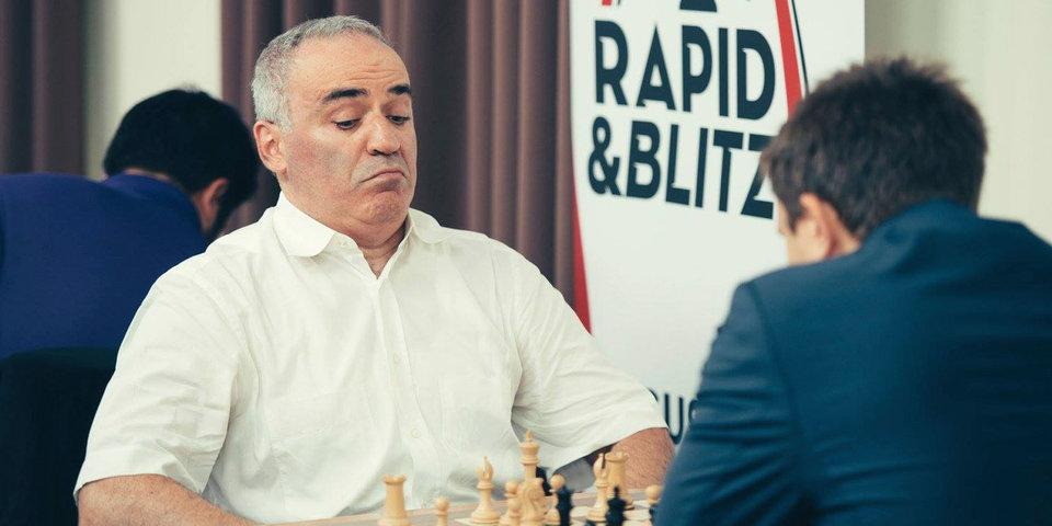 Партия Каспаров — Ананд в США завершилась ничьей, Непомнящий вышел в лидеры