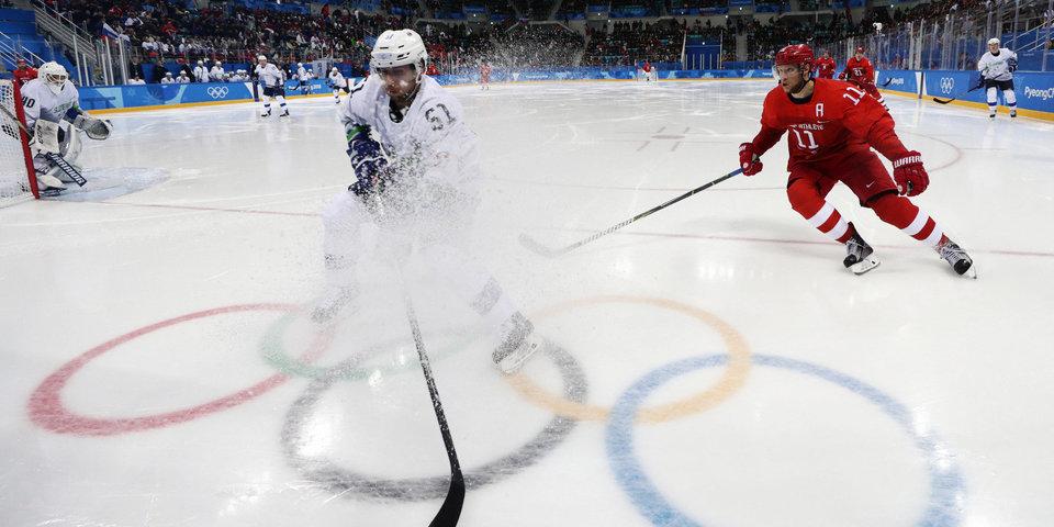 Олимпийский фотовзгляд. День седьмой. Три медали и восемь шайб для России