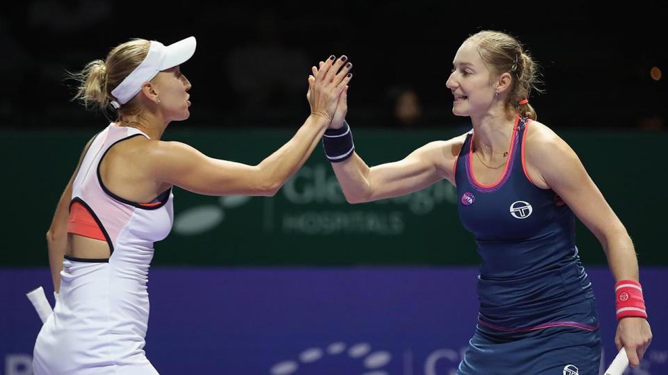 Макарова и Веснина отобрались на итоговый турнир в Сингапуре