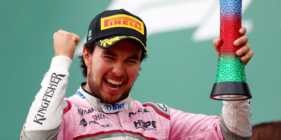 Перес объявит о своем будущем до гонки в Сингапуре