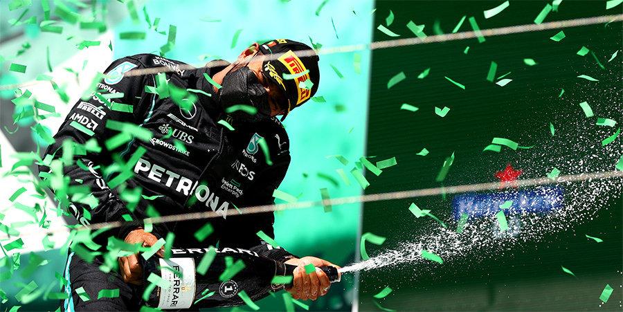 Хэмилтон выиграл Гран-при Португалии. Ферстаппен вновь второй (видео)