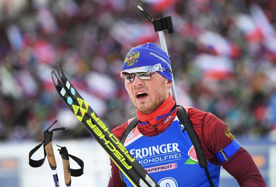 Бабиков выиграл спринтерскую гонку на стартовом этапе Кубка IBU