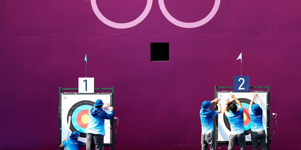 Мужская сборная Кореи по стрельбе из лука стала золотым медалистом Олимпийских игр