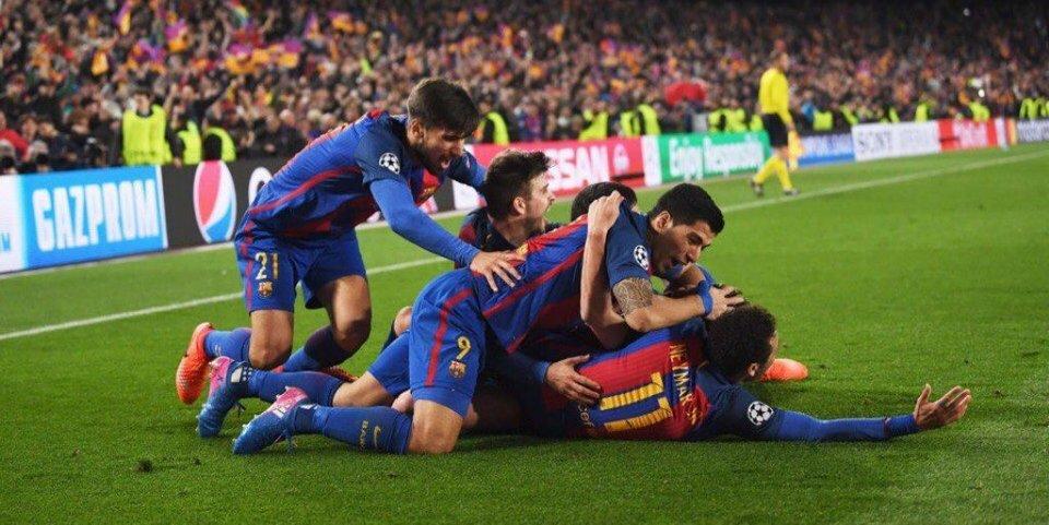 «Барселона» забила шесть голов и прошла «ПСЖ». Как это стало возможно