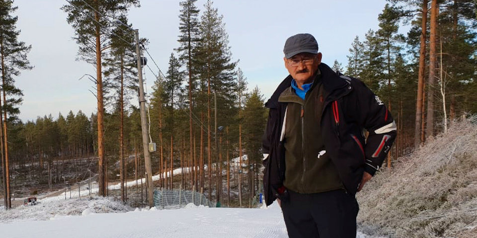 Сборная России по биатлону начала сбор в Контиолахти. Снег есть, смотрите фото!