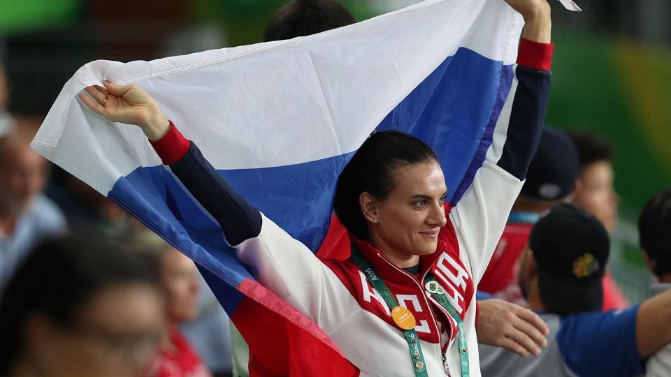 Елена Исинбаева: «Сняли фильм обо мне и о моей подготовке к Олимпиаде в Рио»