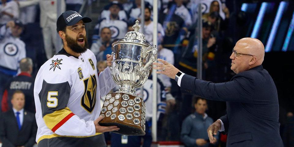 «Вегас» стал первым финалистом Кубка Стэнли