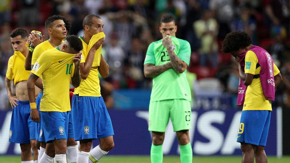 «Единственное, в чем Бельгия была лучше – это игра лидеров». Бразильские СМИ считают поражение несправедливым