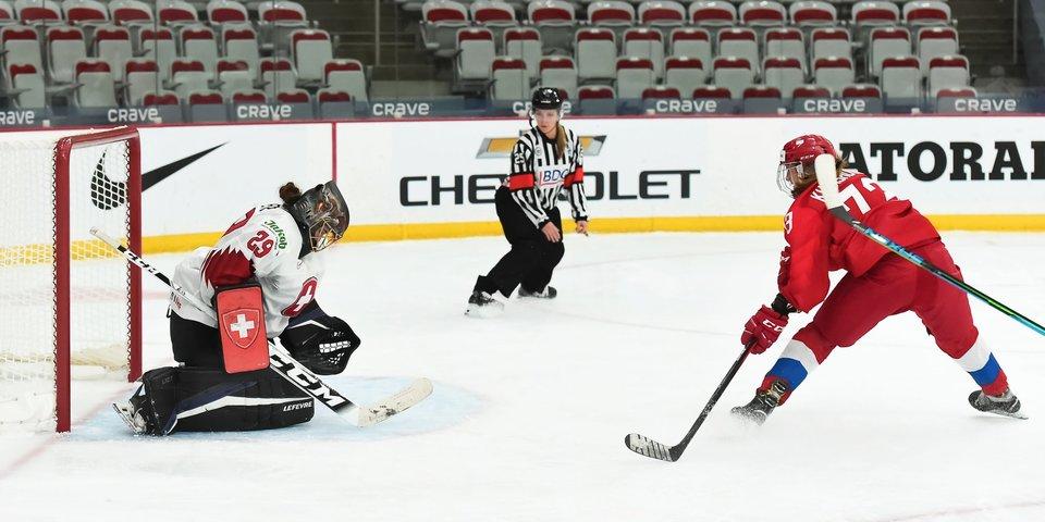 Российские хоккеистки рассказали о победе над Швейцарией на чемпионате мира