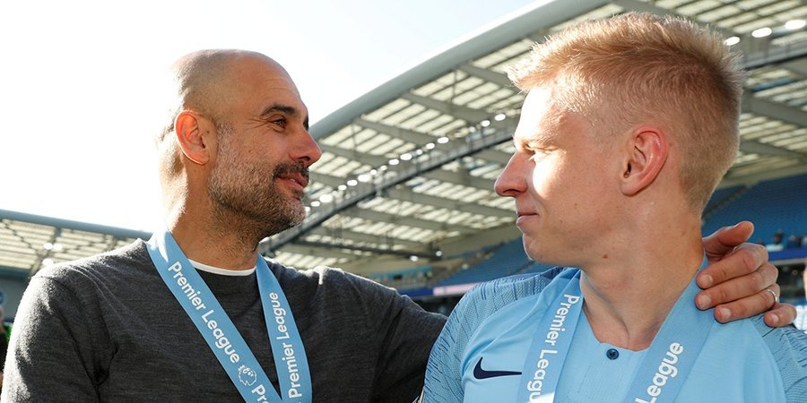 Хосеп Гвардиола: «Зинченко заслуживает того, чтобы выступать за «Манчестер Сити»