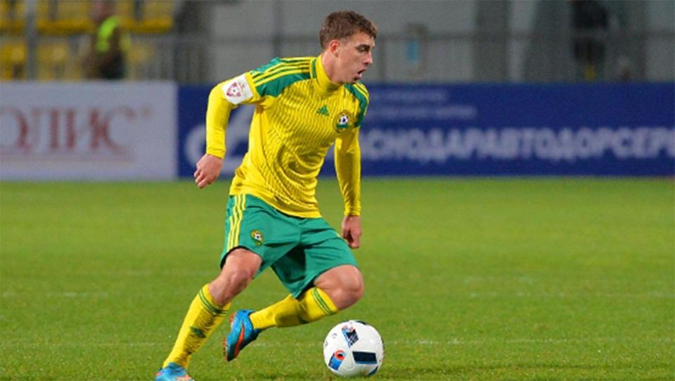 «Кубань» надолго потеряла полузащитника молодежной сборной России