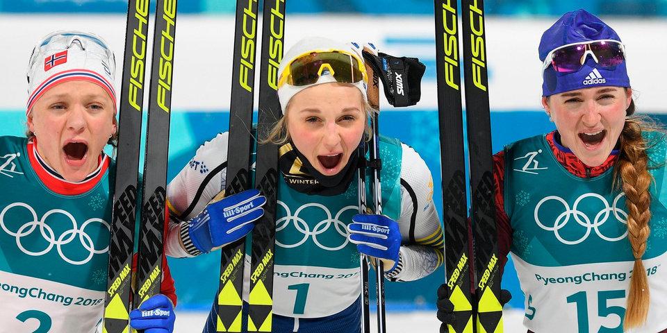Медаль нашей пары в керлинге и две бронзовые награды в лыжах за две минуты. Как это было