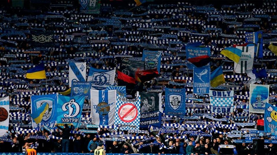 УЕФА может наказать украинские клубы за расизм и файеры