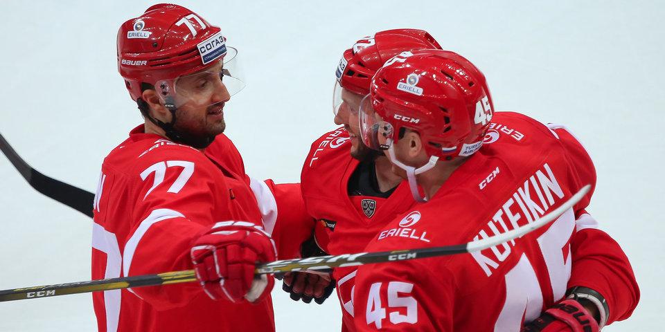 Шайба Даугавиньша принесла «Спартаку» победу над «Динамо»