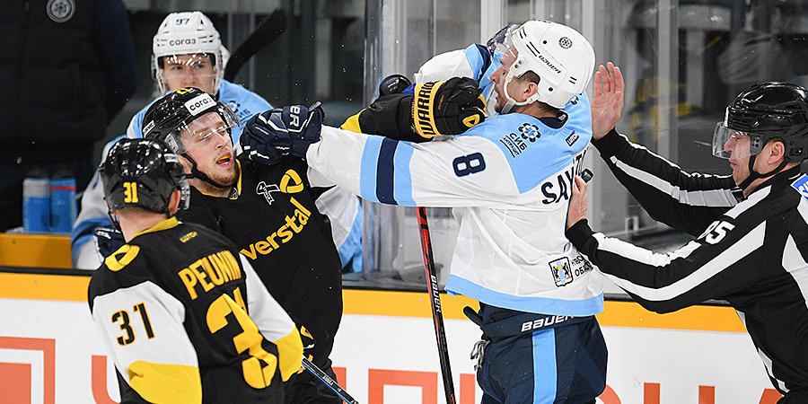 «Сибирь» проиграла третий матч подряд на старте сезона