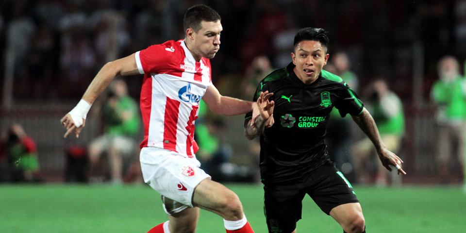 «Краснодар» проиграл в Сербии и вылетел из Лиги Европы: голы и лучшие моменты