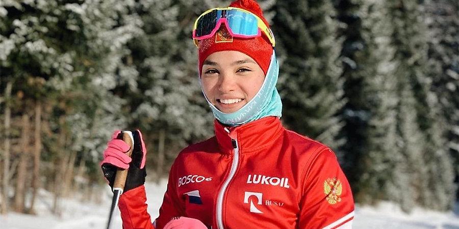 Вероника Степанова: «Меня хотели взять в основную сборную в этом сезоне, но Вяльбе настояла оставить в юниорах»