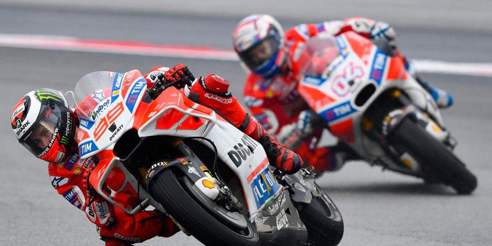 Довициозо выиграл гонку в Малайзии, Маркес финишировал вне топ-3