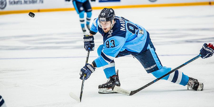 «Сибирь» расторгла контракт с защитником, игравшим за команду в течение пяти лет