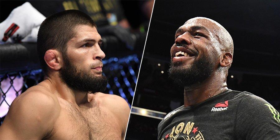 Кто лучший боец мира: Джонс или Хабиб. Джон Джонс критикует Нурмагомедова, UFC выносит решение