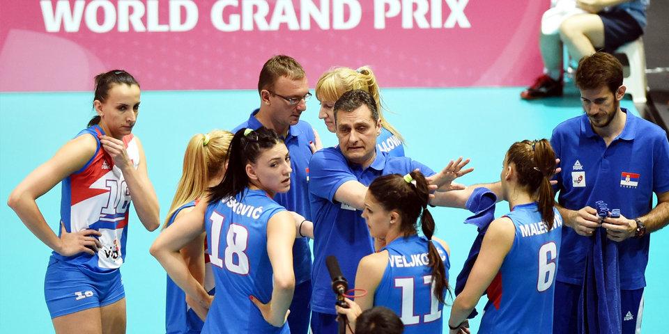 Российские волейболистки проиграли Японии в последнем матче Гран-при