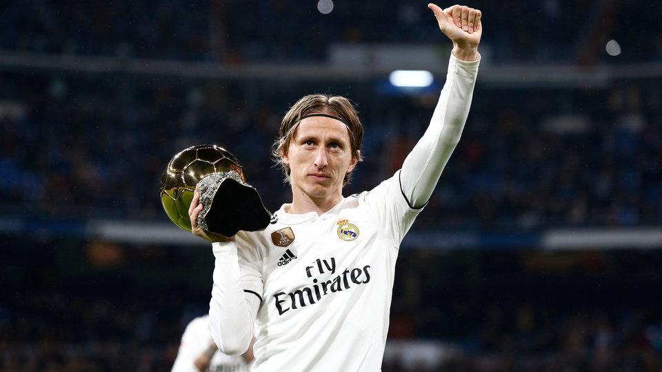 Лука Модрич: «Моя цель – завершить карьеру в «Реале»