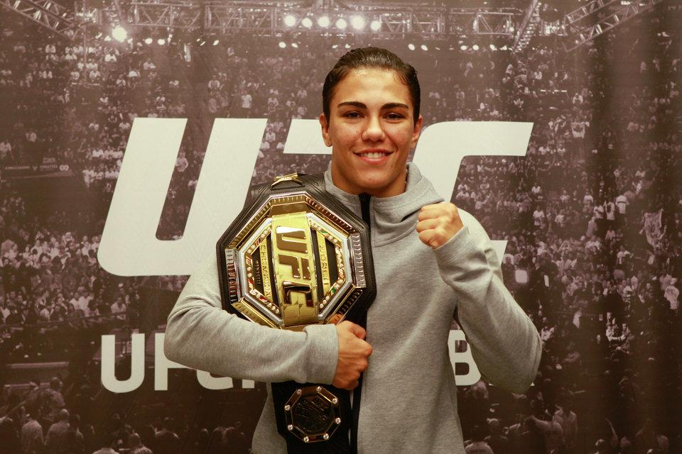 Официально: Андраде и Намаюнас проведут реванш на UFC 249