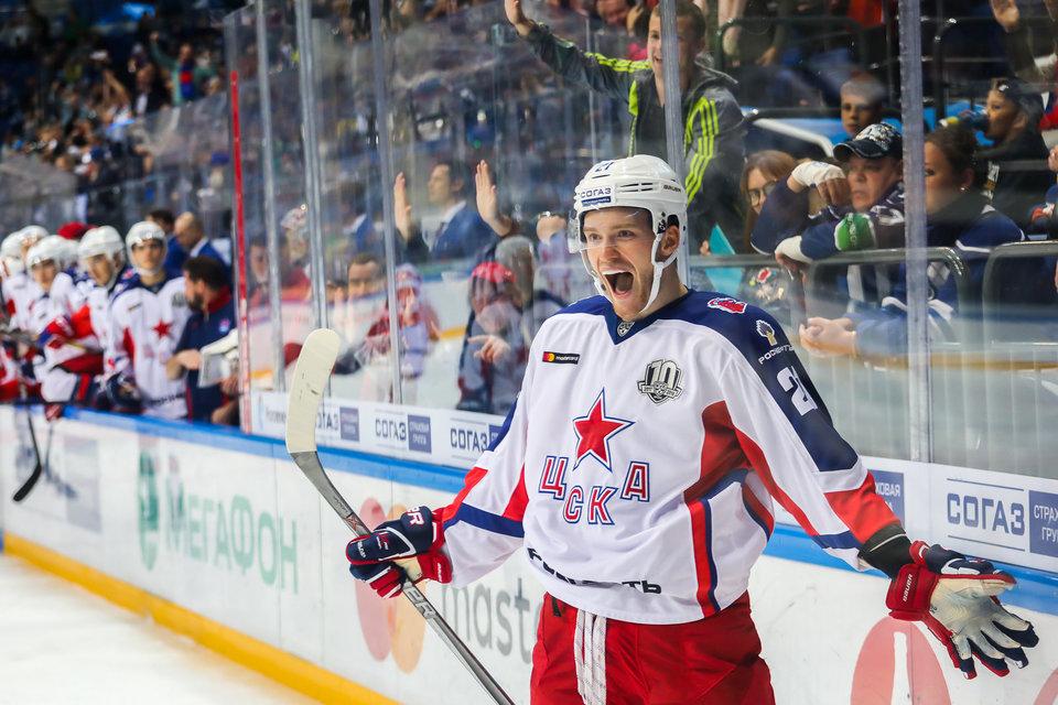 Михаил Григоренко: «Хорошо, что КХЛ сделала расписание, когда у нас много игр против СКА»