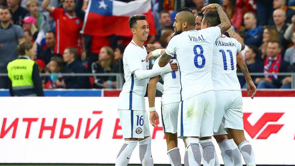 Чилийцы проиграли в Румынии, ведя в 2 мяча