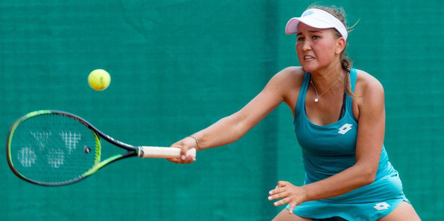 Рахимова проиграла Саккари во втором круге Открытого чемпионата Франции