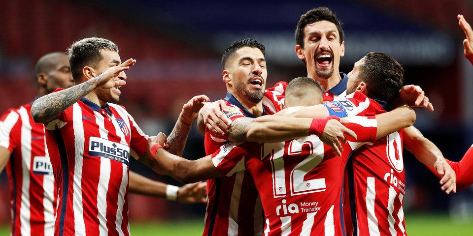 «Реал» и «Барселона» поздравили «Атлетико» с победой в Примере