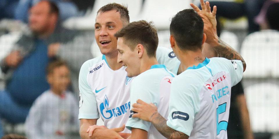 Гол Кузяева принес «Зениту» победу над «Бордо» в Санкт-Петербурге
