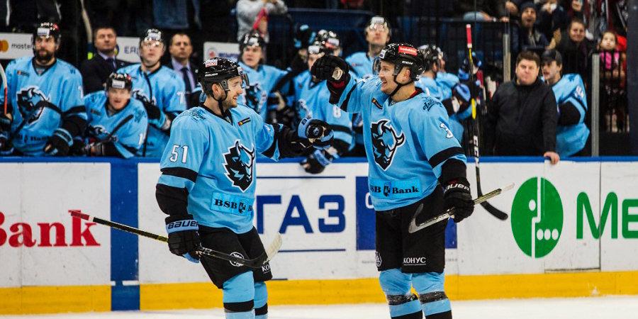 Рижское «Динамо» уступило одноименной команде из Минска, потерпев 11-е поражение подряд в КХЛ