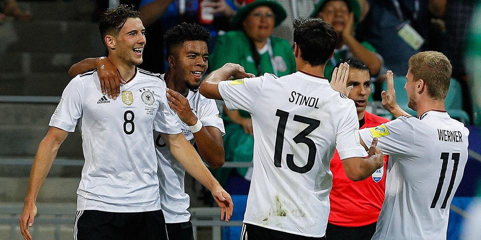 Сборная Германии не оставила шансов Мексике в полуфинале Кубка конфедераций
