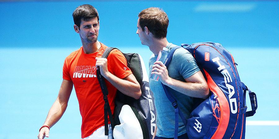 «Ментальный и физический гигант». Маррей и Джокович «собрали» идеального теннисиста