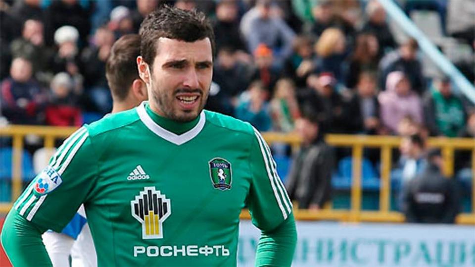 Никита Баженов получил перелом костей носа в товарищеском матче против «Торпедо»
