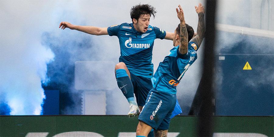 Азмун стал первым игроком «Зенита», забившим 50 мячей менее чем за 100 матчей