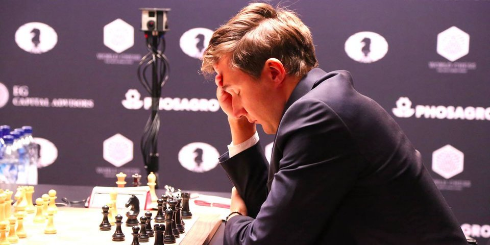 Как Карякин мог выиграть вторую партию? Объясняет Сергей Шипов