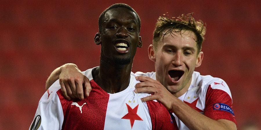 «Арсенал» проявляет интерес к нападающему «Славии» Симе