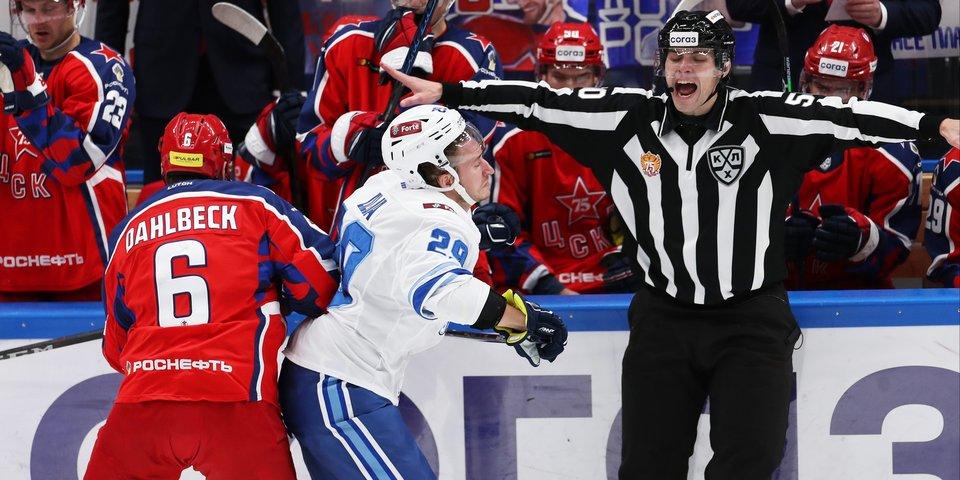 «Барыс» разобрался с ЦСКА. Москвичи пропустили 5 шайб в третьем периоде