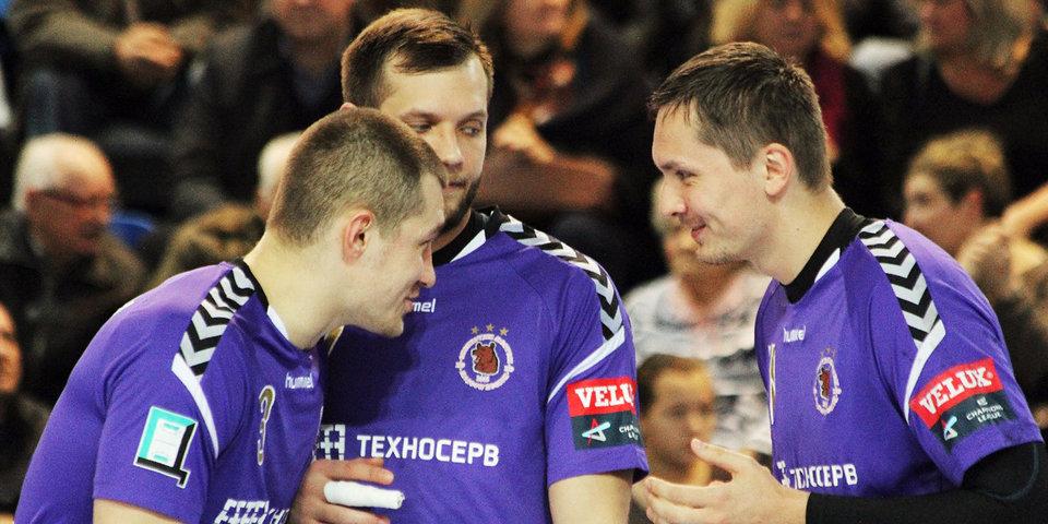 «Чеховские медведи» победили в стартовом матче в Лиге чемпионов